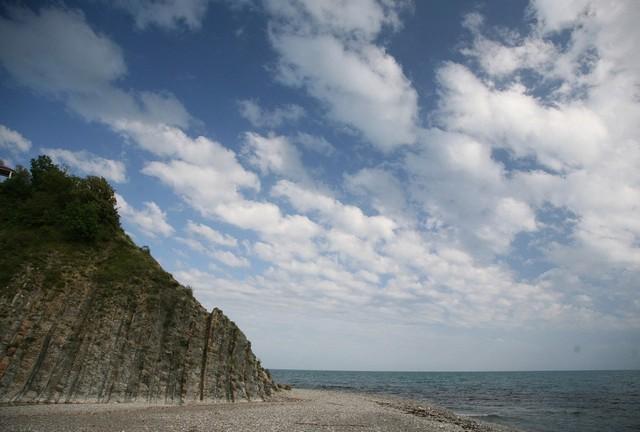 Новая - пляж