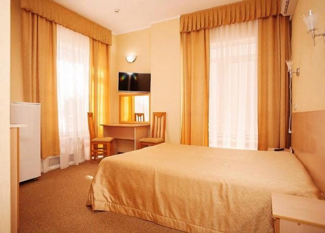 Двухместный номер Делюкс с 1 кроватью и балконом 1