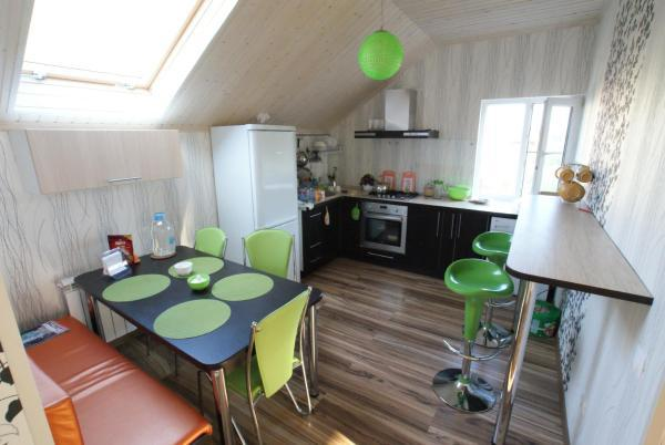 Зона кухни 1
